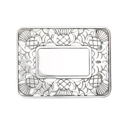 Thistle design Belt Buckle