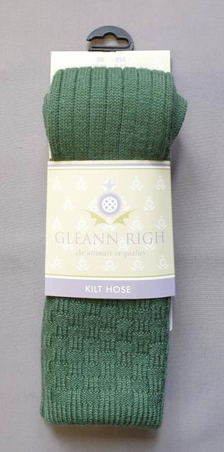 Glenbeg lovat green socks