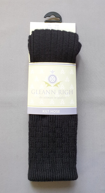 Glenbeg black socks