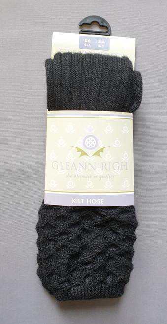 Strone charcoal socks