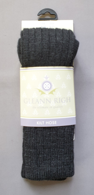 Glenbeg charcoal socks