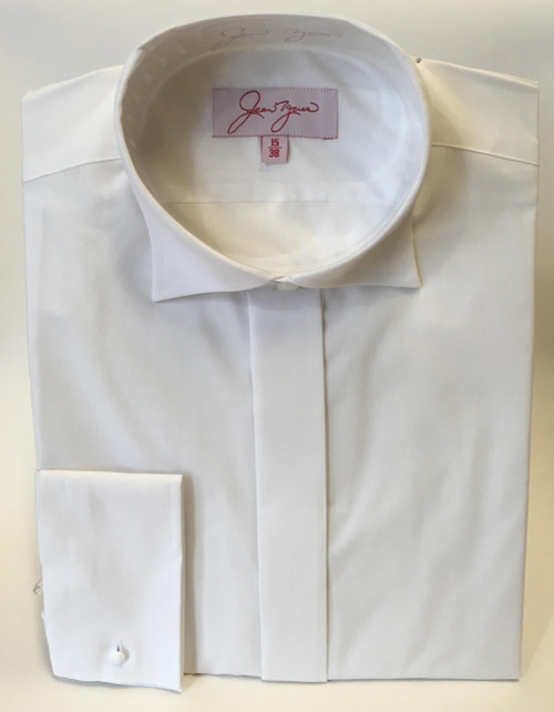 Edwardian Collar Shirt  - White