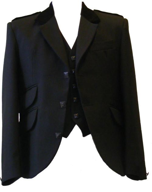 Cairngorm and waistcoat