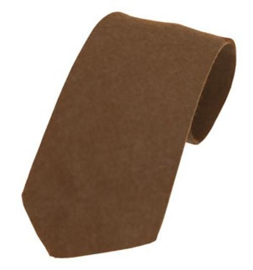 Callanish Pure Wool Tie - Cocoa