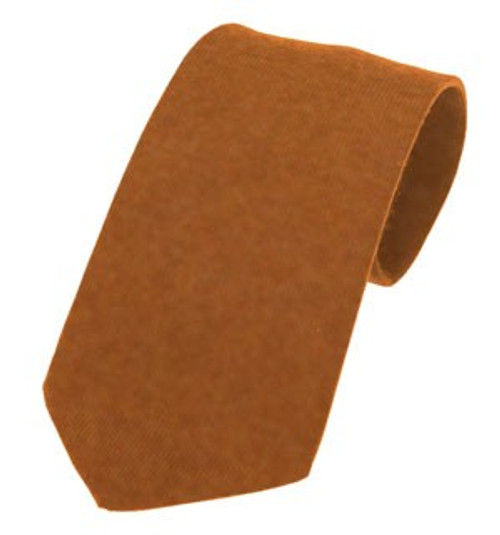 Callanish Pure Wool Tie - Ginger
