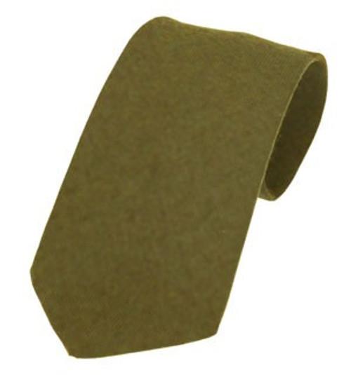 Callanish Pure Wool Tie - Olive