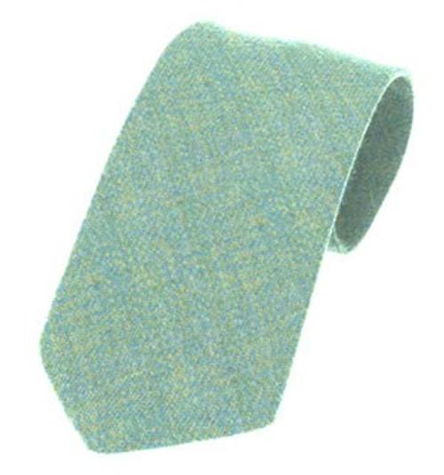 Islay Pure Wool Tie - Sky