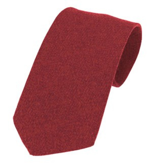 Islay Pure Wool Tie - Red