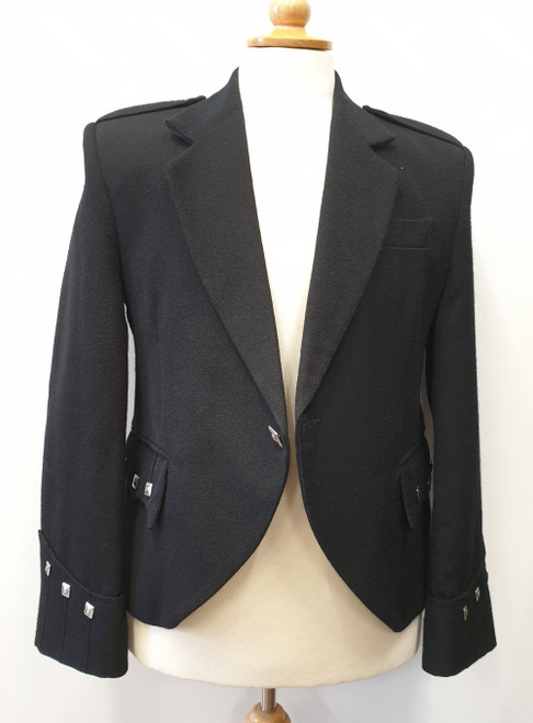 Black Argyll Jacket (Ex-Hire)