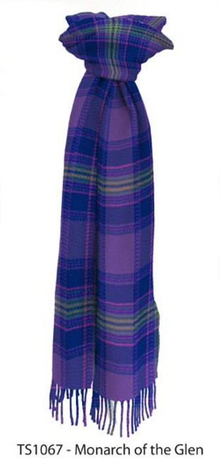 Monarch of the Glen Tartan Lambswool Scarf