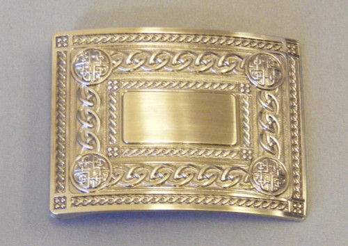 4 Dome antique buckle
