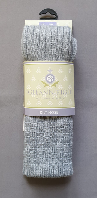 Glenbeg light grey socks