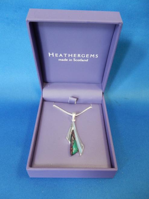 Heathergems Sycamore Silver Plated Pendant