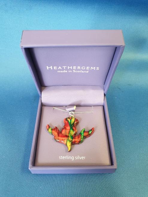 Heathergems Thistle Pendant