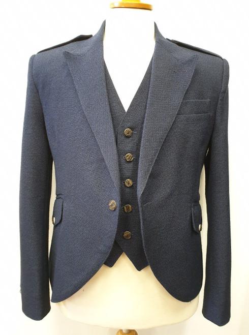 Navy Wallace jacket and waistcoat