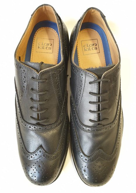 Oxford day brogue - black