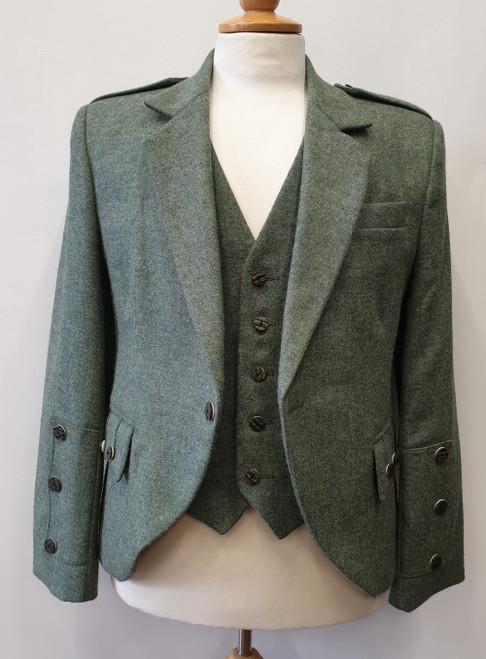 Lovat green tweed Braemar