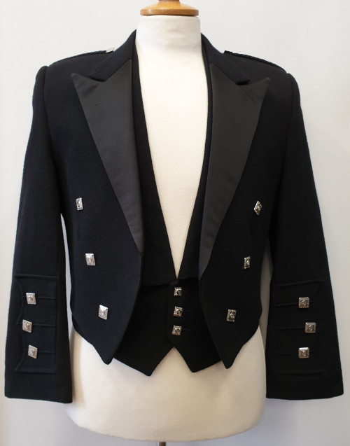 Black Prince Charlie Jacket (Ex-Hire)