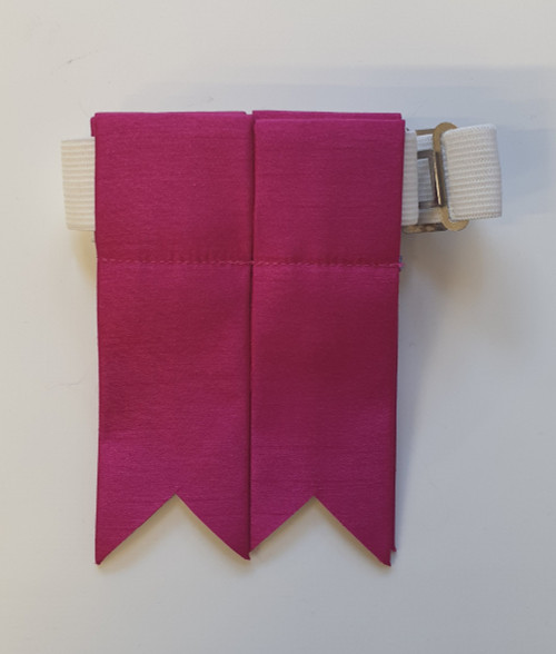 Garter Flashes- Fuschia Pink