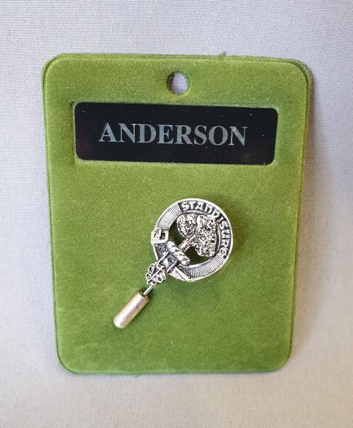 Clan crest lapel / tie pin