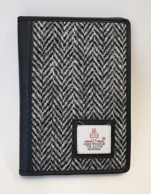 Harris Tweed Wallet - Black and White