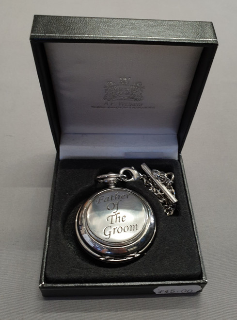 Pocket watch - father of the groom