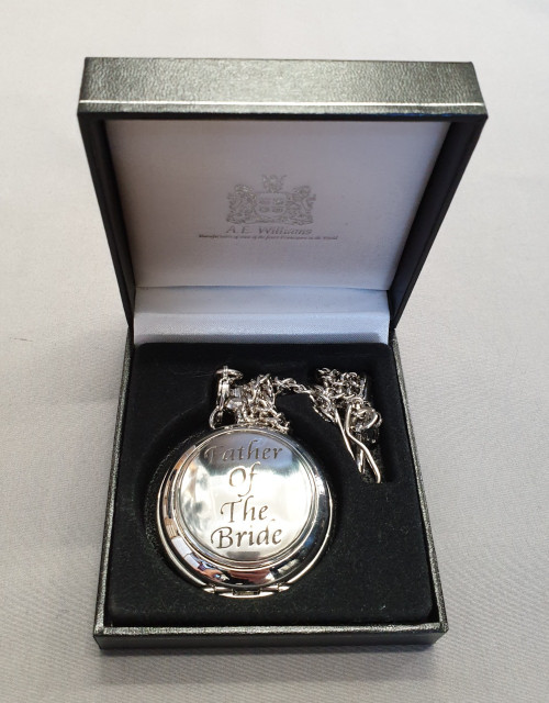 Pocket watch - father of the bride