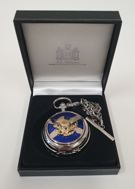 Pocket watch - Saltire and thistle