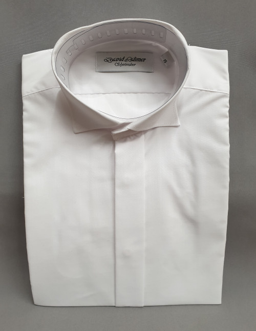 David Latimer white Edwardian shirt