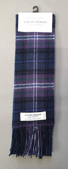 Tartan lambswool scarf - Modern Scotland Forever