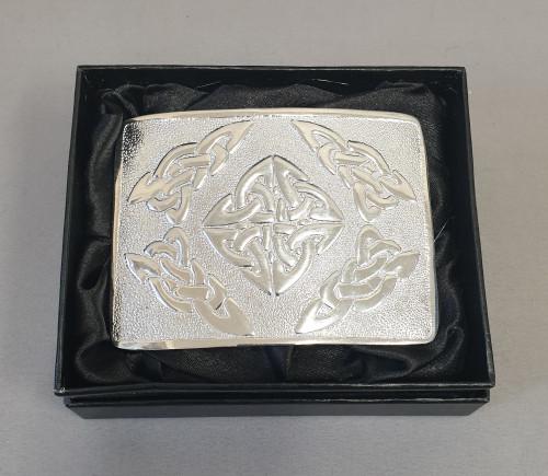 Kilt belt buckle - Modern Celtic