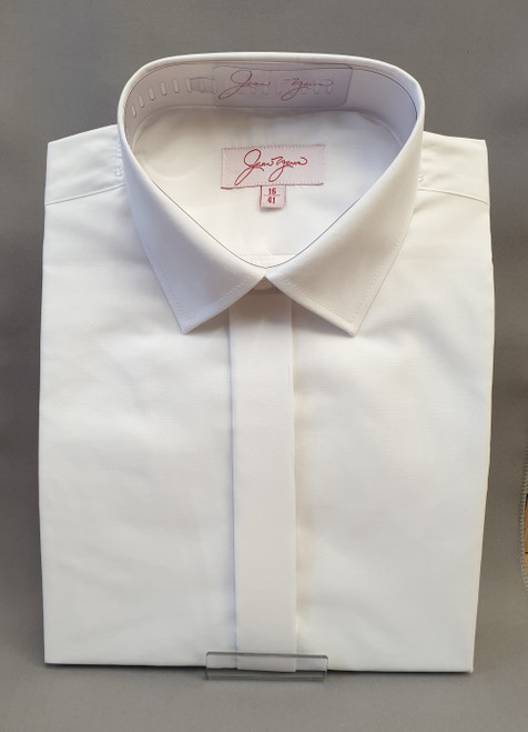 Dress white shirt, regular collar