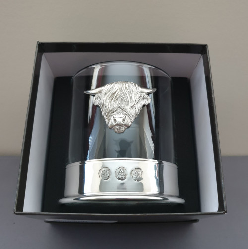 Whisky glass - Highland cow