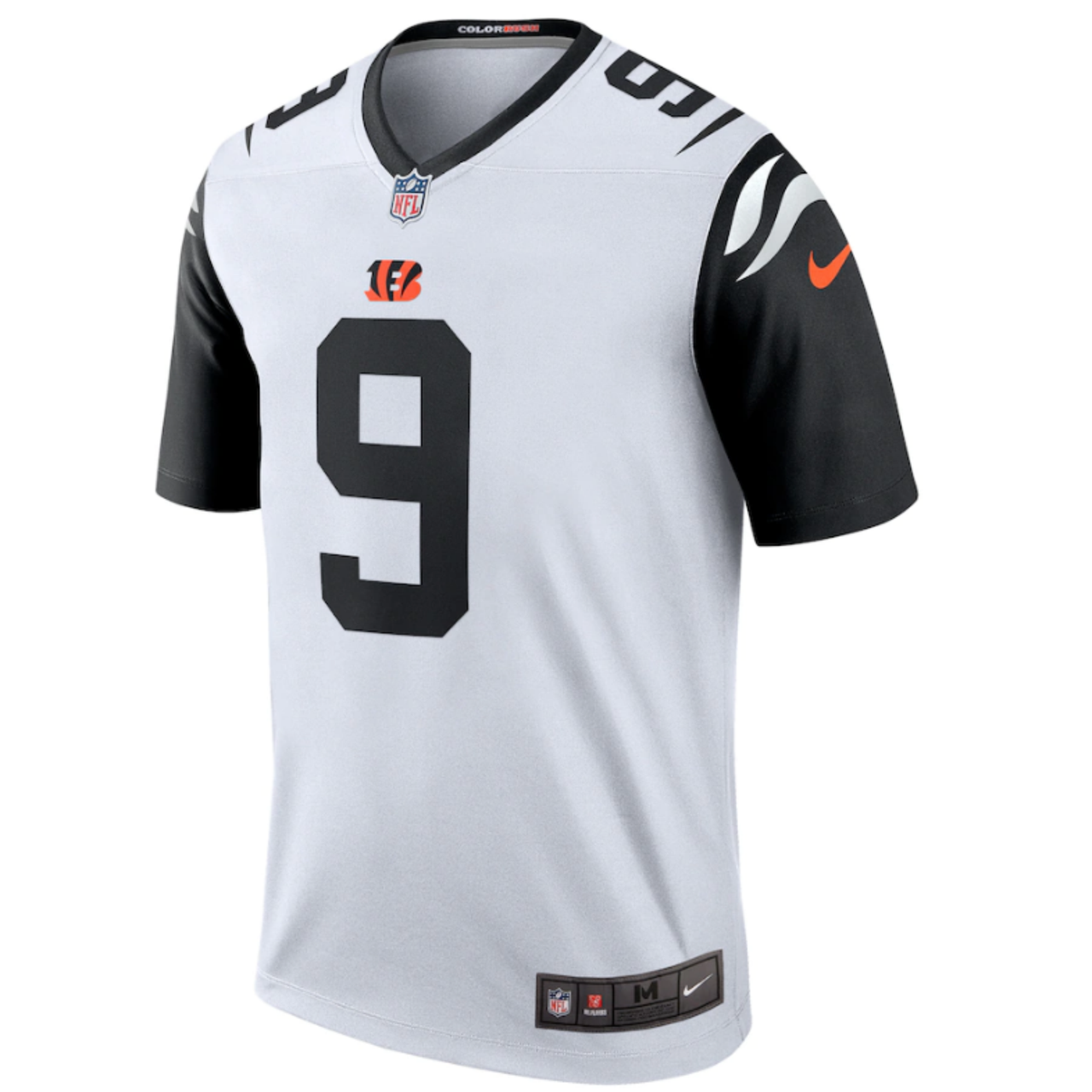 nike bengals color rush jersey