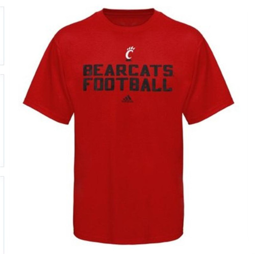 Cincinnati Bearcats Youth Red Football Practice T-shirt