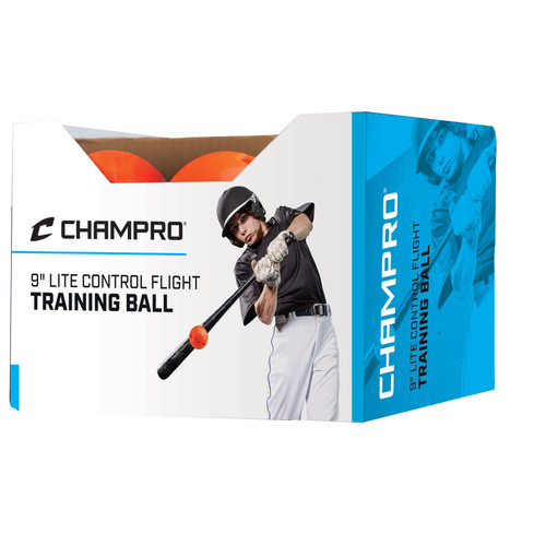 "Champro 9"" Lite Control Flight Training Ball (Dozen)"