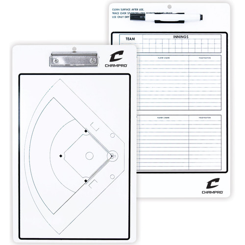 "Champro 10""X16"" Baseball/Softball Coach's Board"