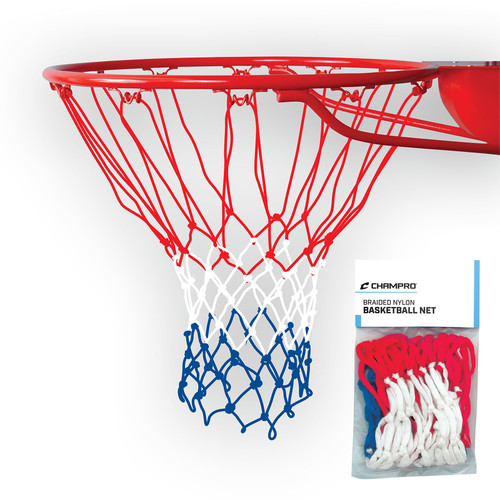 Champro Braided Nylon Net Red/White/Blue