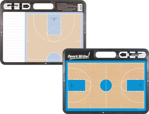 Sport Write Dry-Erase PRO Basketball Coaches Board