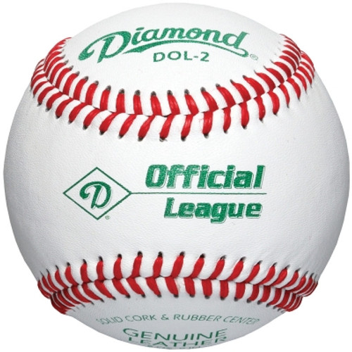 Diamond DOL-2 Official League Baseballs (Dozen)