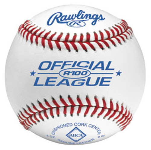 Rawlings R100 Official League Baseball (Dozen)