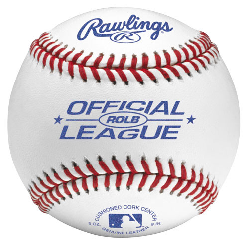 Rawlings ROLB Official League Baseballs (Dozen)