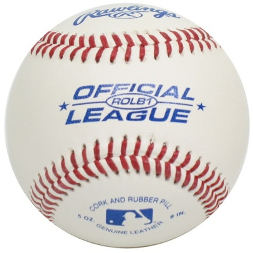 Rawlings ROLB1 Official League Baseballs (Dozen)
