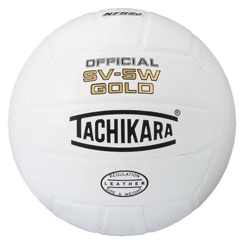 Tachikara SV-5W Gold Leather Volleyball