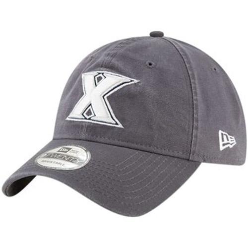 Xavier Musketeers New Era Basic 9TWENTY Adjustable Hat - Gray