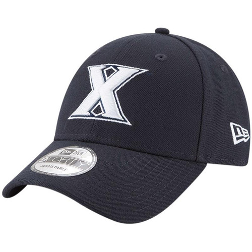 Xavier Musketeers New Era The League 9FORTY Adjustable Hat - Navy
