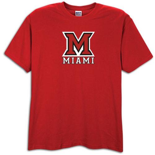 Miami Ohio Redhawks Red T-shirt