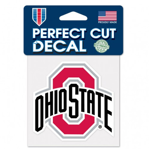 "Ohio State Buckeyes 4""x4"" Perfect Cut Decal"