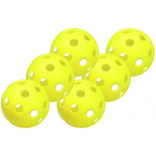 """Easton 9"""" Plastic Training Balls - 6 Pack"""