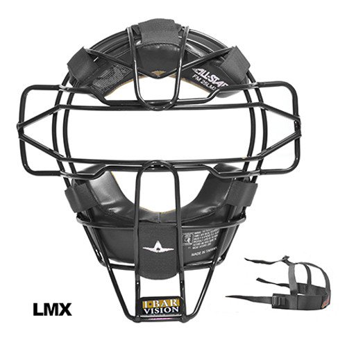 All-Star Black Traditional Umpire Facemask